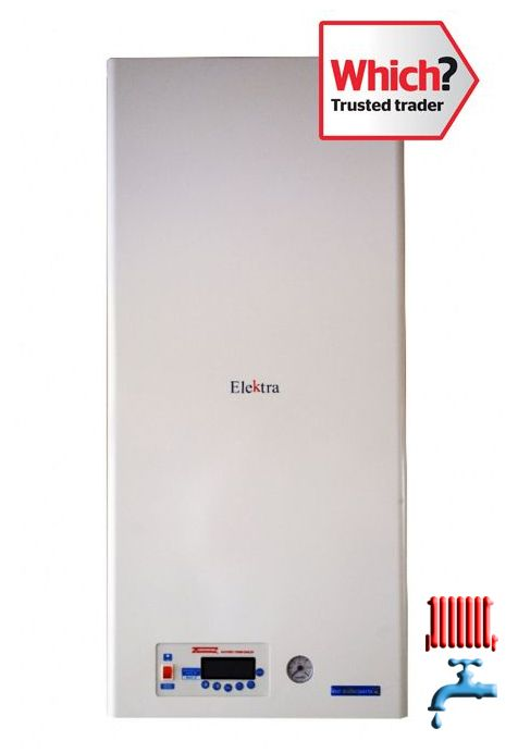 EK.C 12kW Electric Combi Boiler For 1 Bathroom