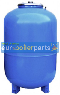"EV.350 VAREM 1"" 100 Litres (100L) Potable Heating Accumulator Tank compatible with Booster Pump"