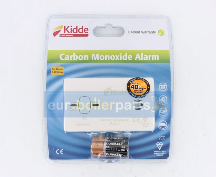 GS.140 Kidde CO (Carbon Monoxide) Detector Alarm