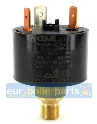 Water Pressure Switch (Old Style)