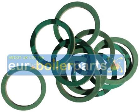"XW.155 1 1/4"" Fibre Washer (10 pcs) Vokera 0341"