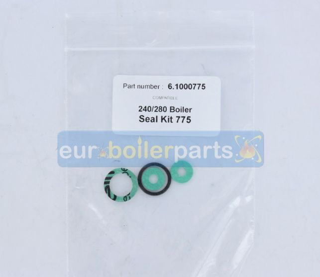 XW.350 Alpha Ocean 6.1000775 flue seal kit 775 (Compatible)