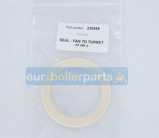 XW.400 BAXI 230955 SEAL SEALING GASKET FAN TO TURRET PF MK2 (Compatible)