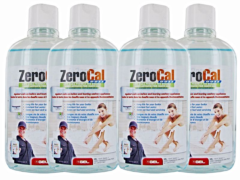 ZP.400 ZEROCAL Water Treatment Refill Pack 4 bottles 500ML